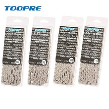 Toopre MTB Road Bike Parts Bicycle Chain Single speed 6 7 8 9 10 11 12Speed Velocidade MTB Chains 116L Silver Part Missing Link