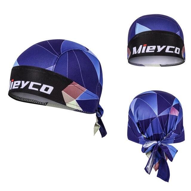 Mieyco Bicycle Cycling Headbands Sport Cyclist Cycling Cap For Men Head Bandana Female Bike Cap Men's Summer Running Headscarf 5