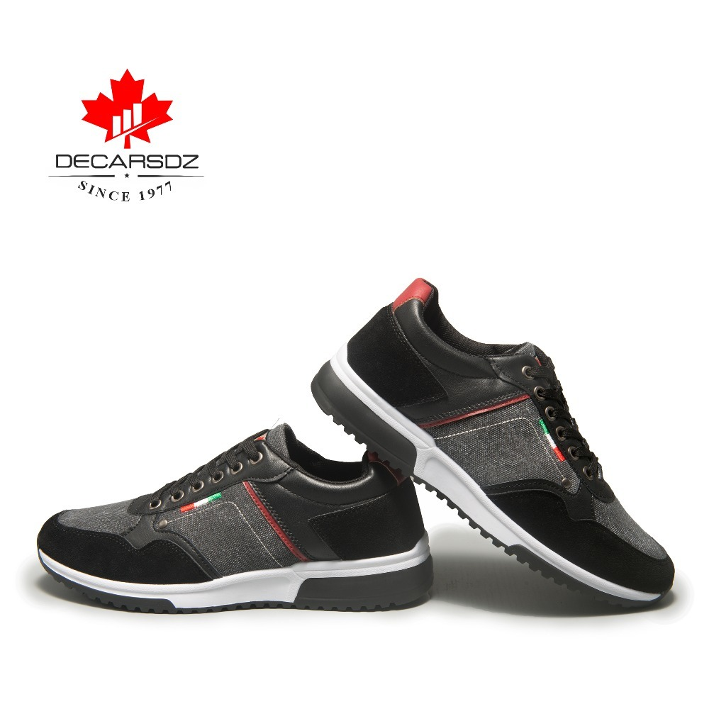 Image 5 - DECARSDZ 2019 Autumn Sneakers Men Fashion Men's Shoes Male Trainers Footwear Brand Walking Casual Shoes Male Men's Casual Shoes-in Men's Casual Shoes from Shoes