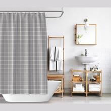 цена на Grey Lattice Shower Curtain, Simple Bathroom Styleshower Curtains Bathroom Curtain , Waterproof and Mildew Shower Curtain Shower