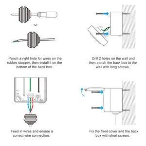 Image 5 - Itead Sonoff S55 Waterproof Smart Socket Wifi Switch UK/AU/US/FR/DE/ZA Multiple Version Wifi Socket Works With Alexa Google Home