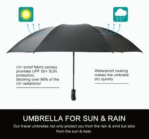 Image 3 - Inverted Umbrella Windproof Compact Umbrella Inside Out Reverse Umbrella Automatic Open and Close Rain Umbrella for Woman & Man