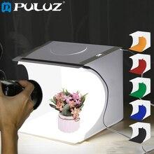 "PULUZ 8""2LED Panels Folding Portable Photo Video Box Lighting Studio Shooting Tent Box Kit Emart Diffuse Studio Softbox lightbox"