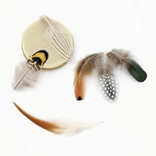 Turkey-Feathers Decorative Pheasant Rooster Jewelry Plumes Natural White Wholesale