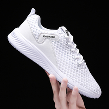 Mesh Men Sneakers Breathable Zapatillas Hombre Couple Fitness Sneakers mens Gym Trainers Outdoor Sport Shoes Men high quality original mizuno wave prophecy 6 professional weightlifting shoes men sneakers outdoor high quality sport sneakers size 40 45