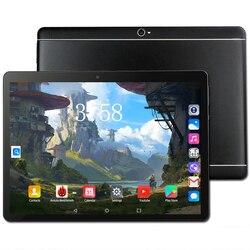 Nowy 10 cal Tablet Pc Octa 8 rdzeń 128GB tabletów z systemem Android 8.0 WiFi Bluetooth GPS 3G 4G telefon otrzymać telefon zwrotny od Dual SIM 64GB karcie uchwyt na Tablet