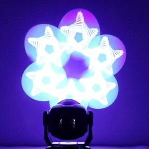Image 5 - Projecteur de lumière de scène 2 pièces LED Spot 90W avec prisme à 6 faces 60W, effet DMX512 pour effet Disco DJ