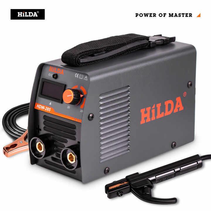 HILDAอุปกรณ์เชื่อมArcเครื่องเชื่อมแบบพกพาเครื่องเชื่อมที่มีประสิทธิภาพINVERTER ARC Welder 220V ACสำหรับHomeเริ่มต้น