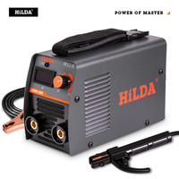 HILDA Welding Equipment Arc Welders Portable Welding Machine Efficient Inverter ARC Welder 220V AC for Home Beginner