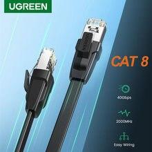 Ugreen Cat8 Ethernet Kabel 40Gbps RJ45 Netzwerk Kabel Lan Patchkabel für Router Modem PS4 Laptop PC Katze 8 RJ 45 Ethernet Kabel