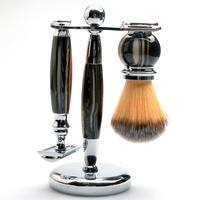 CSB Men shaving tool holder 3 in1shaving brush manual razor stand holders Beard Clean Shaver mens grooming set