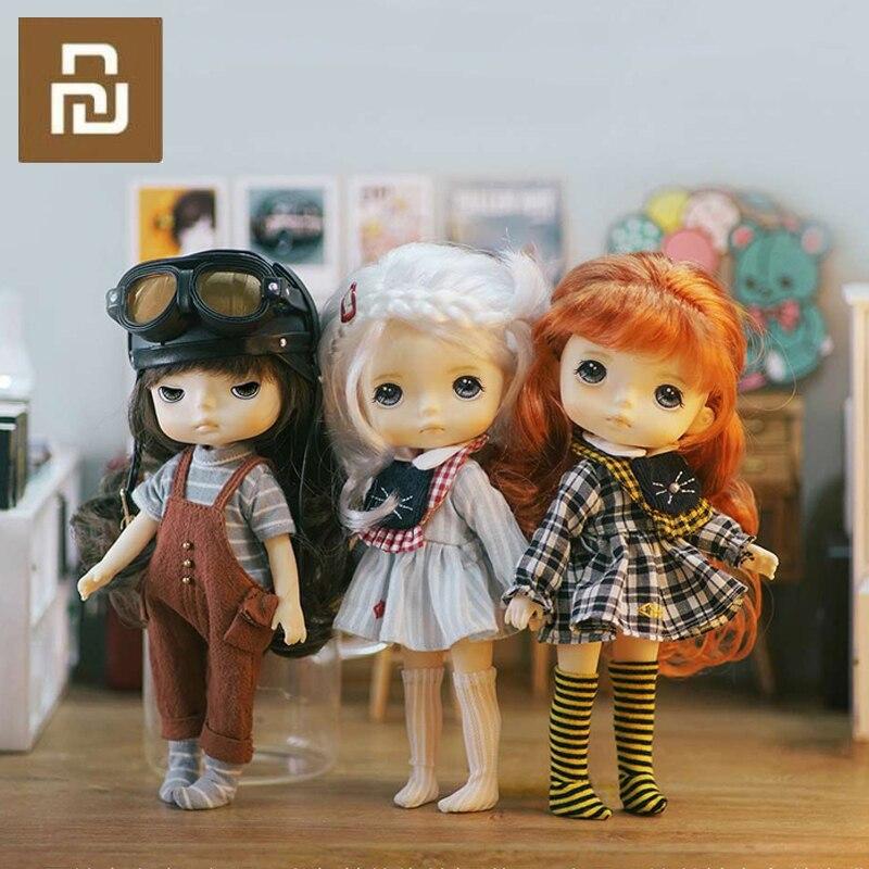 Youpin Monst Savage Baby Bid кукла 20 см высокий маленький и изысканный детский и милый подарок для девочки Смарт-гаджеты      АлиЭкспресс