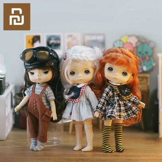 Youpin Monst Savage Baby Bid Doll 20 Cm wysokości mała i wykwintna dziecinna i urocza dziewczyna prezent