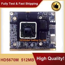 "Für iMac 21 ""A1311 27"" A1312 Original HD5670 HD5670M GDDR5 512MB 216-0772003 VGA Video Graphics karte Arbeits Perfekt Schnelle Schiff"