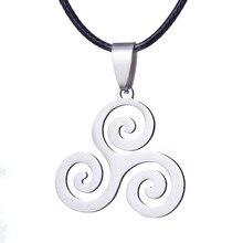 Модное Очаровательное ожерелье из нержавеющей стали с волком для подростков