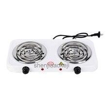 Бытовая нагревательная плита, железная горелка, кофейник с двойной головкой, нерадиационная электрическая печь, кухонные конфорки, плита, 1 шт