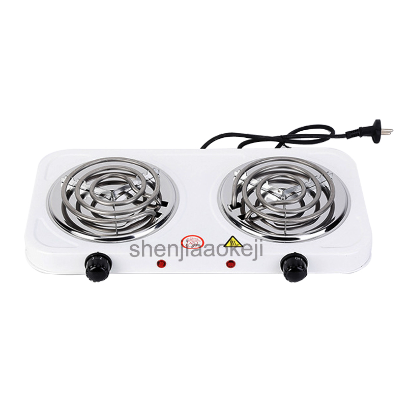 Household Heating Stove Iron Burner Coffee Heater Double-head Non-radiative Electric Furnace Kitchen Hotplates Cooker 1pc