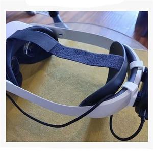 Image 2 - 3D Printing Power Bank Storage Rack Bracket Holder for Oculus Quest 2 Elite VR Headset Headband Accessories