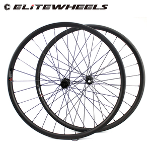 Image 1 - ELITEWHEELS 29 inç MTB karbon tekerlekler Novatec D411 düz çekme Hub karbon tekerlekler et 29er Mtb jantlar 30mm genişlik bisiklet tekerleği