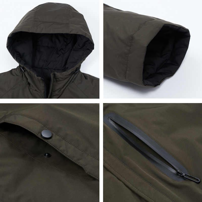 ICEbear 2020 erkek bahar ceket erkek kapüşonlu ceket erkekler fermuar giyim Casual erkek giyim MWC20806I