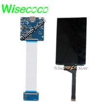 Schermo monocromatico Wisecoco stampante 3d 2k da 6 pollici Display Lcd Mono da 6.08 pollici scheda Mipi 1620x2560 DLP/SLA trasmissione della luce elevata