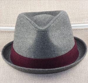 Image 4 - Big Head Men Large Size Fedora Hats Dad Winter Party Formal Jazz Hat Male Plus Size Wool Felt Hat 57 58cm 59 60cm 60 62cm