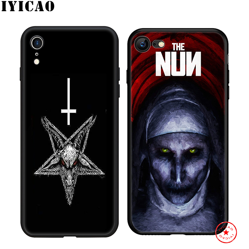 IYICAO Sister Nun Soft Phone Case for iPhone 11 Pro XR X XS Max 6 6S 7 8 Plus 5 5S SE Silicone TPU 7 Plus in Fitted Cases from Cellphones Telecommunications