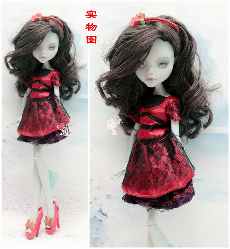 Monstering High Doll Clothes Handmade Outfit Soft Personality Doll Dress Jacket Skirt Doll Clothing Set Quality Doll Clothes 2