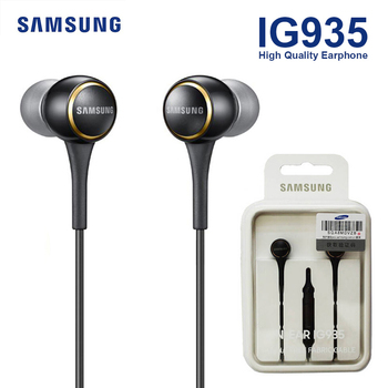 SAMSUNG EO-IG935 In-ear Sport Headsets Music Earphones Black / White Stereo Bass 3.5mm for Android Music Phones Original