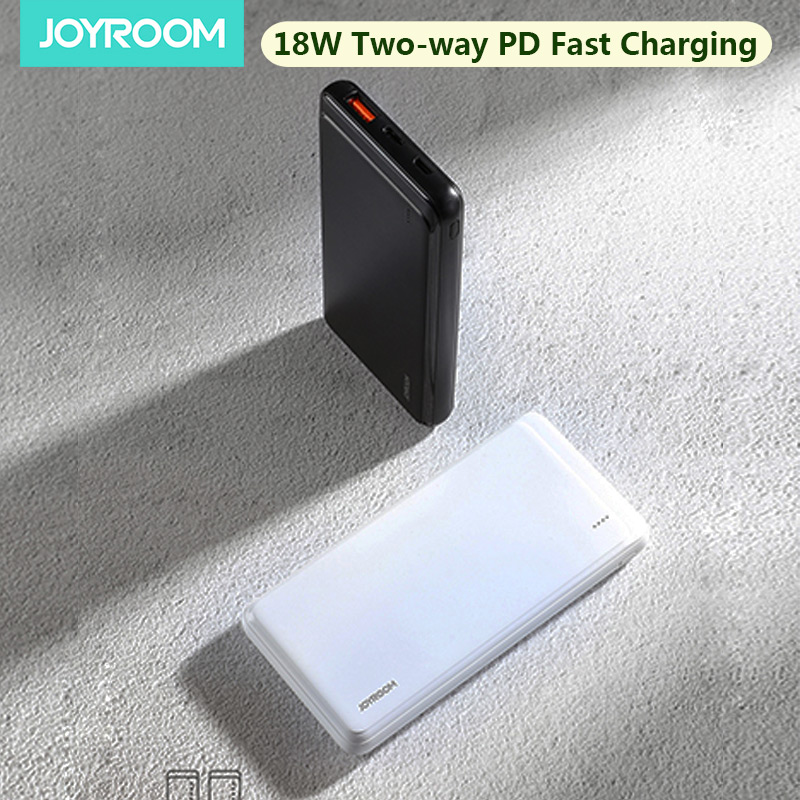 Joyroom внешний аккумулятор для Xiaomi 18 Вт Двусторонняя PD Быстрая Зарядка Внешний аккумулятор 10000 мАч портативное зарядное устройство|Внешние аккумуляторы|   | АлиЭкспресс