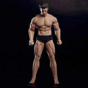 """Image 2 - 1/12 Schaal TM01A TM02A Flexibele Man Gespierde Man En Sexy Vrouwelijke Volledige Set Body Met Hoofd Carving Voor 6 """"action Figure Body Speelgoed"""