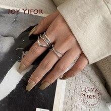 Bague Ellipse en argent sterling 925 pour femmes, redimensionnable, faite à la main, couches entrelacées, bijoux fins, accessoires, 925