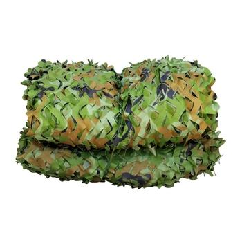1.5x3m /2x10m Hunting Military Camouflage Nets Woodland Army training Camo netting Car Covers Tent Shade Camping Sun Shelter 1 1 5m woodland camouflage camo army net hide netting camping military hunting shelter high quality