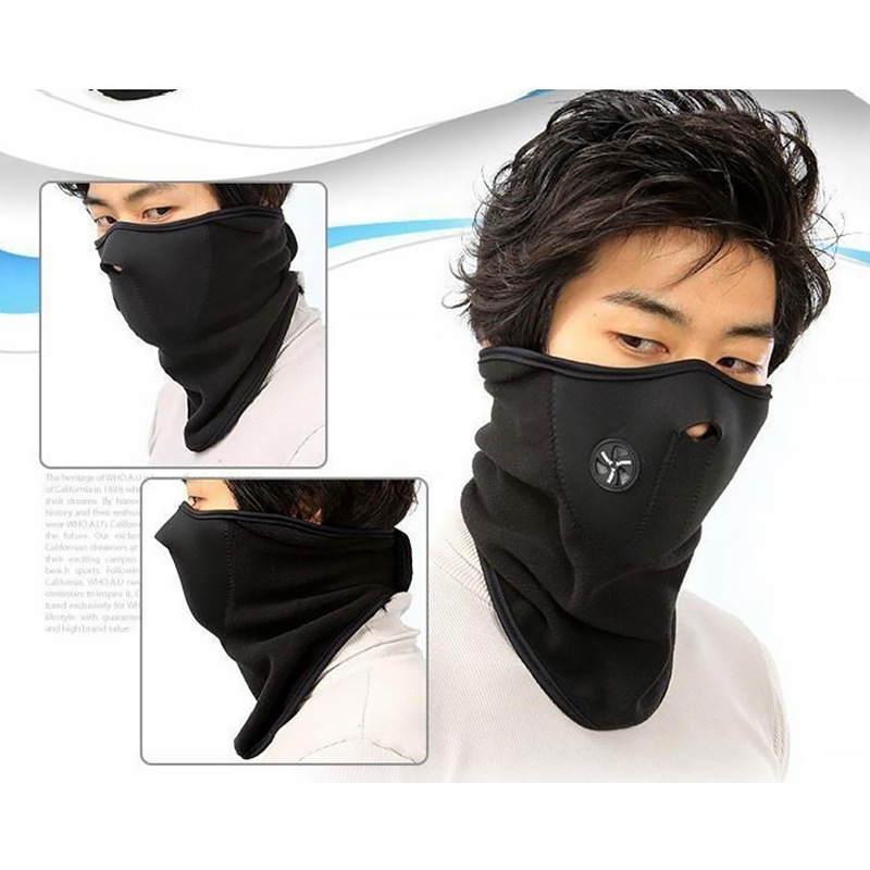 Motorcycle Windproof Warm Face Mask Winter Wind Cold Kneecap Scarf Care Face Mask Knight Equipment Winter