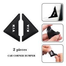 Protection d'angle de porte de voiture à 90 degrés, 2 pièces, anti-rayures, pour KIA Cerato Sportage R K2 K3 K5 RIO 3 4 Sorento