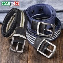 CARTELO Men Belt Army Belts Adjustable