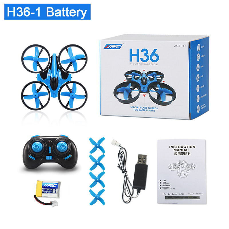 JJRC H36 RC Mini Drone Helicopter 4CH Toy Quadcopter Drone Headless 6Axis One Key Return 360 degree Flip LED rc Toys VS H56 H74
