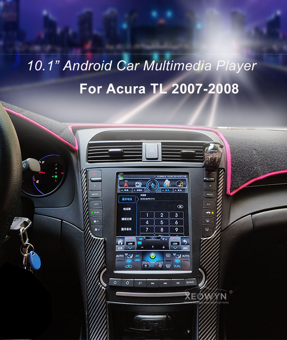 10 1inch Android 8 1 System For Acura Tl 2004 2008 Acurazine Acura Enthusiast Community