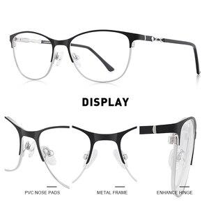 Image 2 - MERRYS DESIGN kobiety moda trendy kocie okulary pełna ramka panie krótkowzroczność okulary korekcyjne okulary optyczne S2110