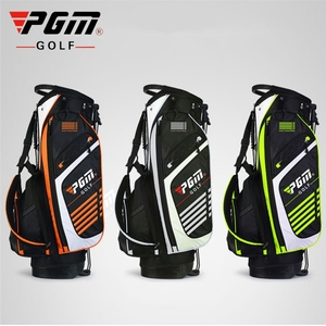 Image 1 - Pgm Portable Golf Stand Bag Golf Bags Men Women Waterproof Golf Club Set Bag With Stand 14 Sockets Outdoor Sport Cover Bag D0069