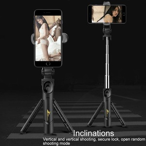 Image 3 - New Trend Selfie Stick Bluetooth Remote Control Three in one Integrated Self timer Tripod Mobile Phone Bracket Live Bracket