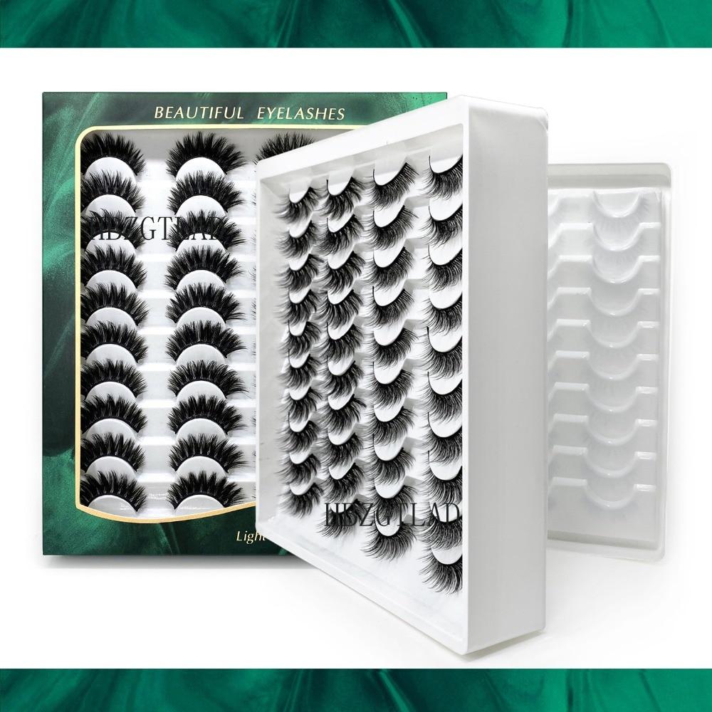 cílios postiços natural 40 pares de artesanal