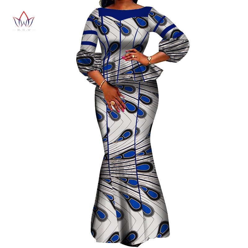 African Women Skirt Set Dashiki Hight Quarlity 2019 Cotton Crop Top And Skirt African Clothing Good Sewing Women Suits WY3710