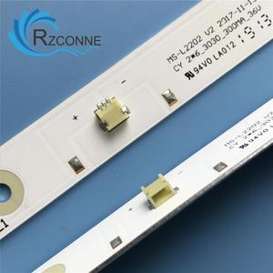 Image 4 - Светодиодная лента для подсветки, 580 мм, 6 ламп для ТВ, для ТВ, для E348124, для L2202, L1074, 32LES78T2W, светодиодный