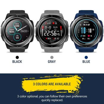 VIBE 5 1.3 Inch Round Screen Heart Rate Sleep Monitor Smart Watch For IOS Android Sport Bracelet Fitness Tracker R25