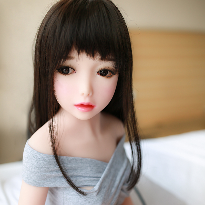 Best Price Small <font><b>Sex</b></font> <font><b>Doll</b></font> <font><b>Head</b></font> Realistic Lovely Girl Fit For 100cm To 125cm <font><b>Doll</b></font> For Men Sexy Products image