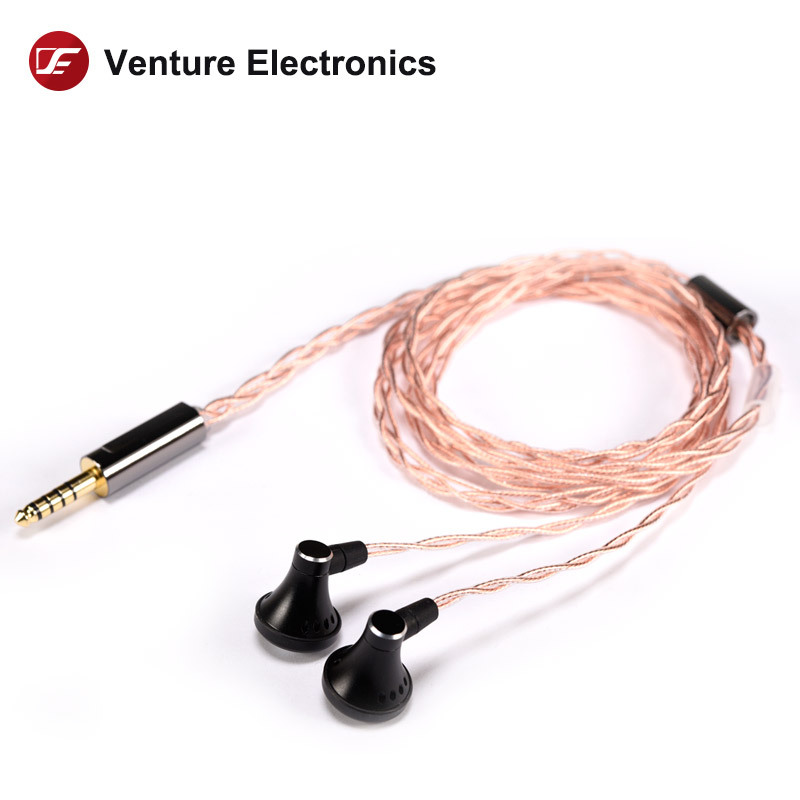 Venture Electronics  VE  Sun High Impedance  HIFI Headphone Earbud