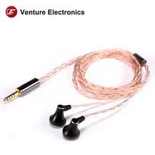 Venture Electronics VE Sun high impedance HIFI Headphone earbud