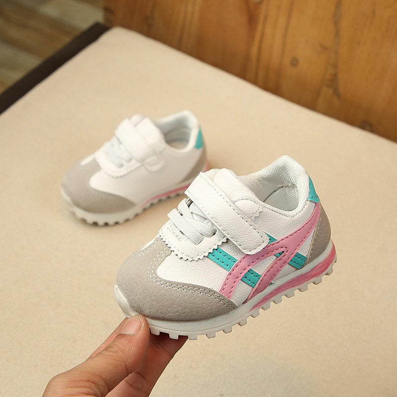 OEAK 2020 New Spring Children Baby Sports Shoes Boys Girls Flats Sneakers Toddler Kids Fashion Casual Infant Soft Sole Shoes