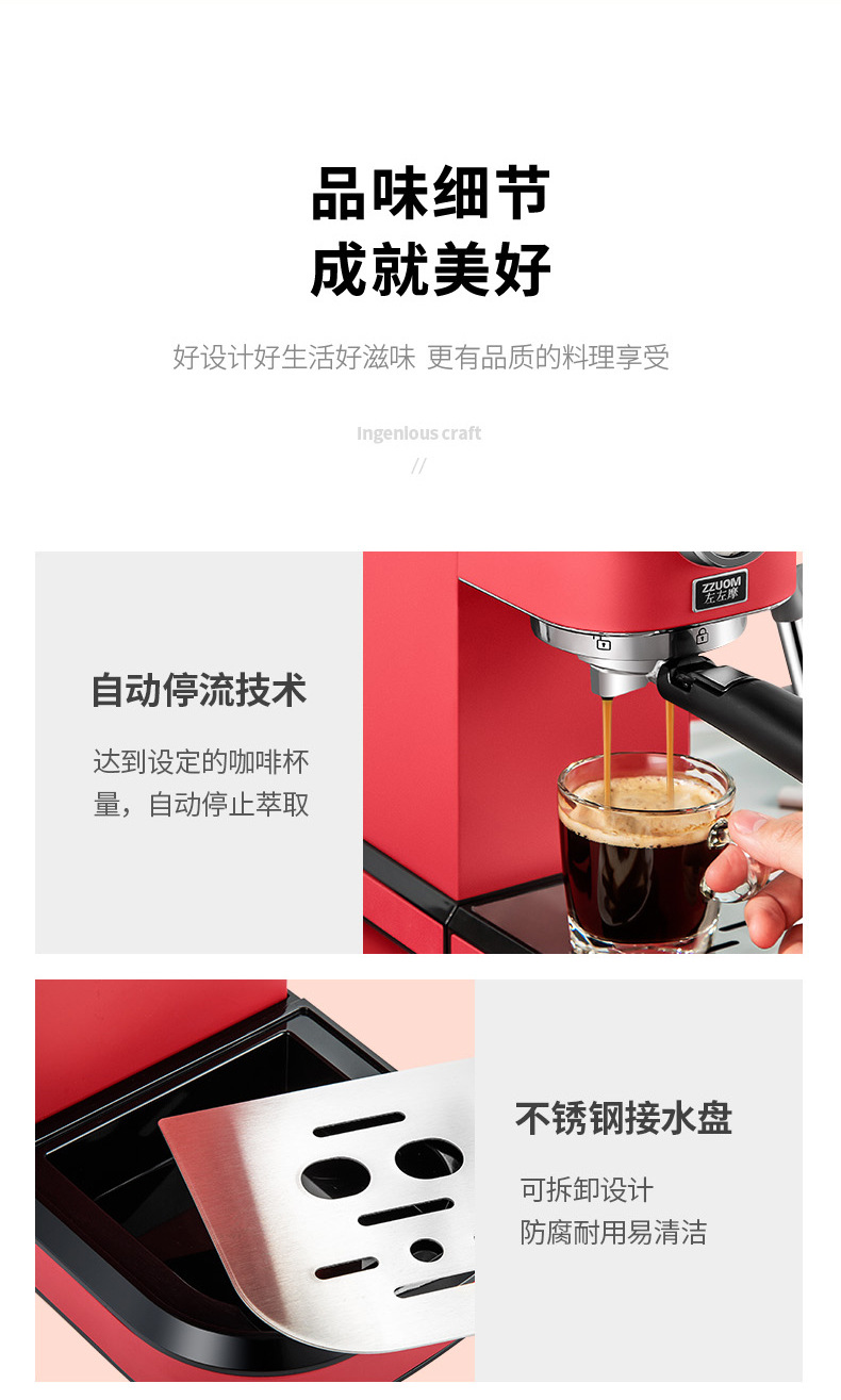 H6d7d62e3fa8545539289ce5f5be0a2a6a - 2020 Neue 15Bar Espresso Machine Stainless Steel Body Memory Function Home Use Fully Automatic Milk Frother Kitchen Appliances
